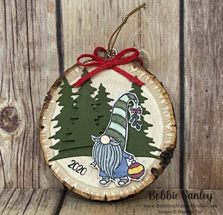 Gnome for the Holidays Christmas ornament